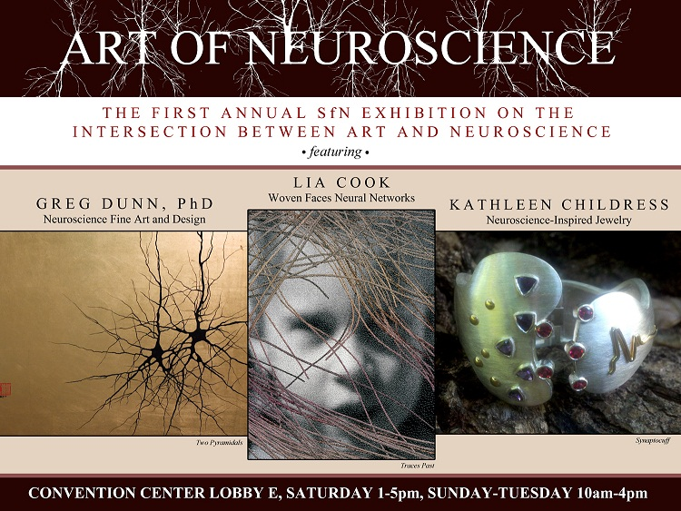 "First time ""Art of Neuroscience"" exhibit at SfN, New Orleans!"